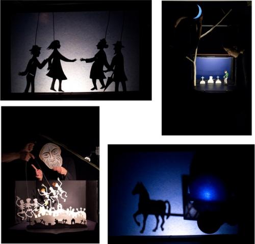 Theater ABOUDBRAS, Figurentheater ABOUDBRAS, Schattentheater, Figurentheater, Papiertheater, Figurentheater Lothringen, Figurentheater Elsass, Jessica Blanc, Figurentheater aus Frankreich in deutescher Sprache