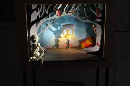 Puppenspielkunst Lothringen Theater Aboudbras, Figurentheater Jessica Blanc, Ausstellung Figurentheater Lothringen, Marilor