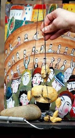 Figurentheatr Jessica Blanc, Theater ABOUDBRAS, Erzählung, Märchen und Figuren, Deutsch-Französischen Theate, Puppenspielkunst, Marionnetten, deutsch französisches Puppentheater